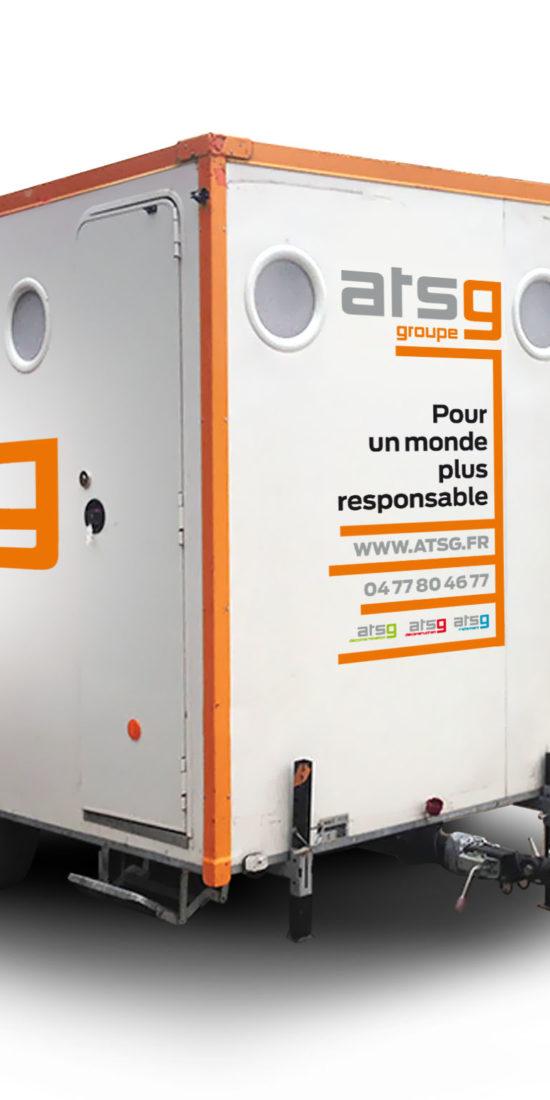 Marquage Mini Algeco ATSG