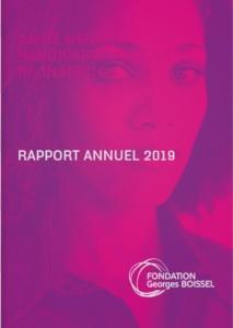 rapport activité 2019 Fondation BOISSEL